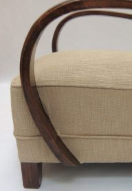 Art Deco Armchairs detail 2