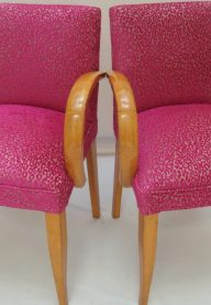 Art Deco bridge chairs 4