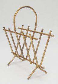 Bamboo magazine rack 2