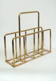 Brass magazine rack 2