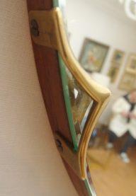 Circular mirror detail
