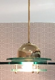 Fontana Arte ceiling light detail 2