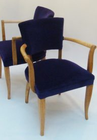French bridge chairs