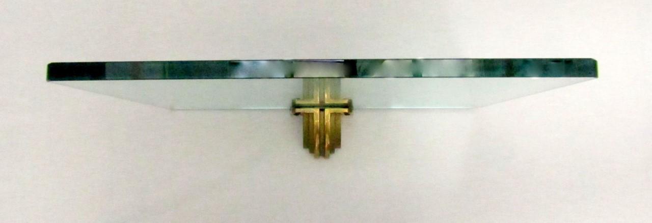 Peter Ghyczy glass shelf | L & V Art and Design