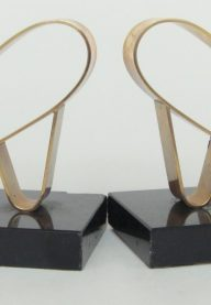 Gold Starry bookends