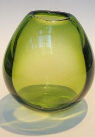 Holmegaard green Drabba 2