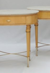 Italian side tables pair 2