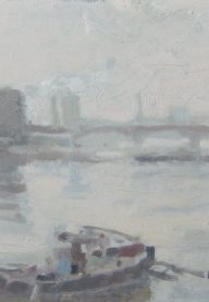 Ken Howard Towards Wandsworth