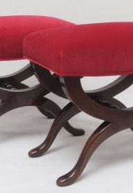 Mahogany stools 2