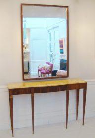 Paolo Buffa console and mirror 2