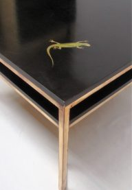 Square black table 2