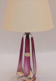 Val St Lambert lamp