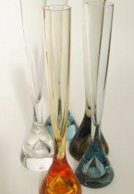 Whitefriars bud vases