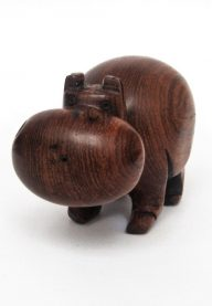 Wooden hippo 2