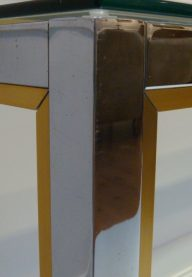 Zevi console table detail